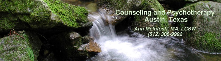 Ann McIntosh, MA, LCSW, Counseling and Psychotherapy | Austin, TX